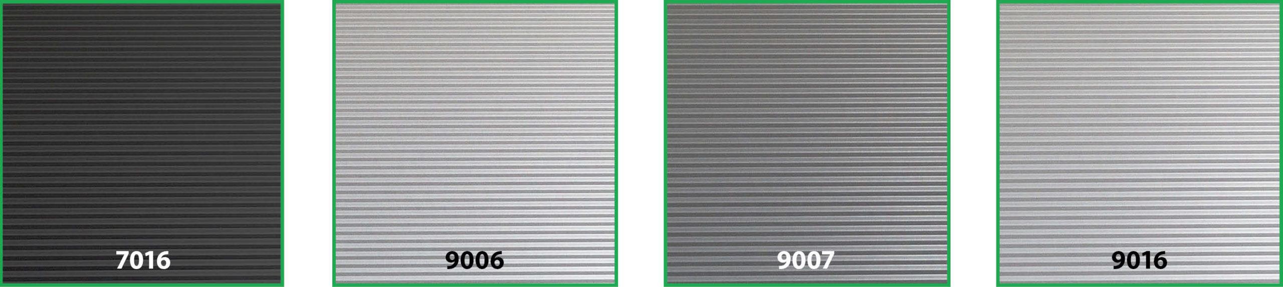 Bedrijfsdeur belijning en kleur panelen UMBRA | Louwers Deurtechnieken